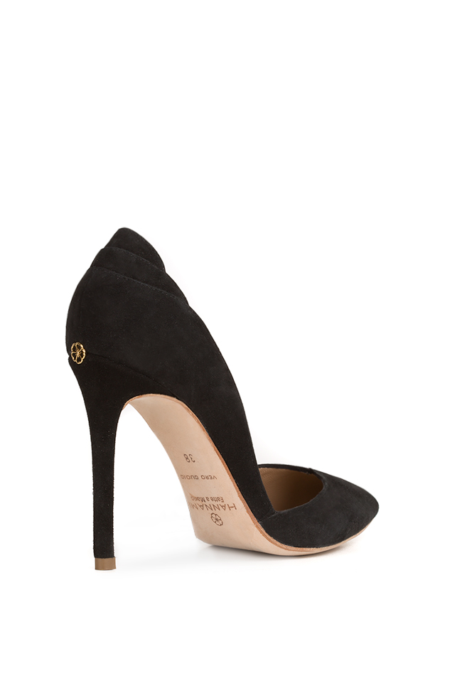 New Iconic velvet leather pumps Hannami image 1