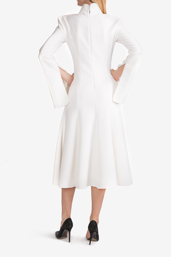 Cape-effect midi dress Florentina Giol image 2