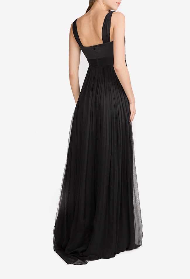 Geneva embellished silk mousseline maxi dress Essa Lian image 2
