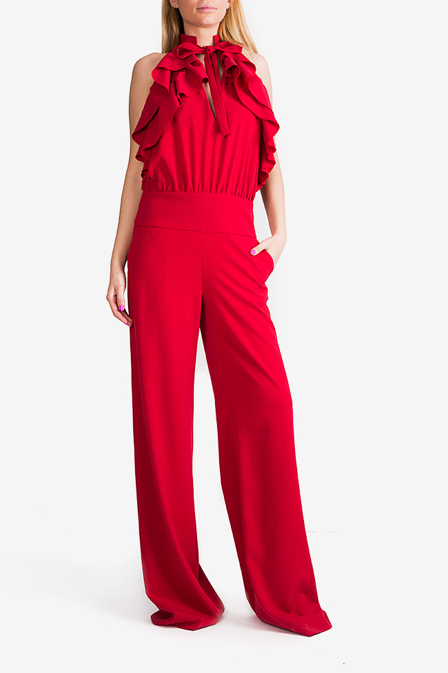 Napoly ruffled open-back jumpsuit Florentina Giol image 1
