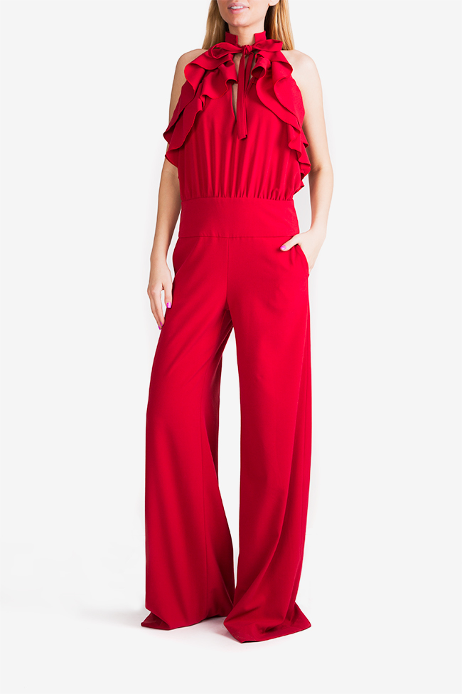 Napoly ruffled open-back jumpsuit Florentina Giol image 0