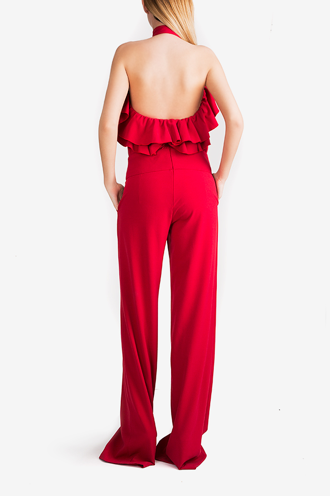 Napoly ruffled open-back jumpsuit Florentina Giol image 2