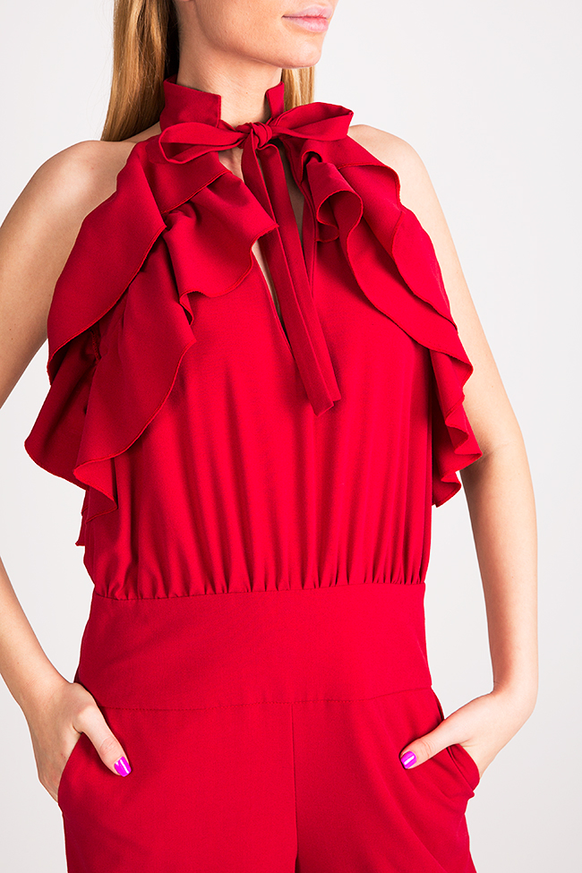 Napoly ruffled open-back jumpsuit Florentina Giol image 3