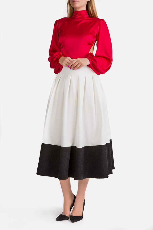La Femme jaquard midi skirt Florentina Giol image 1