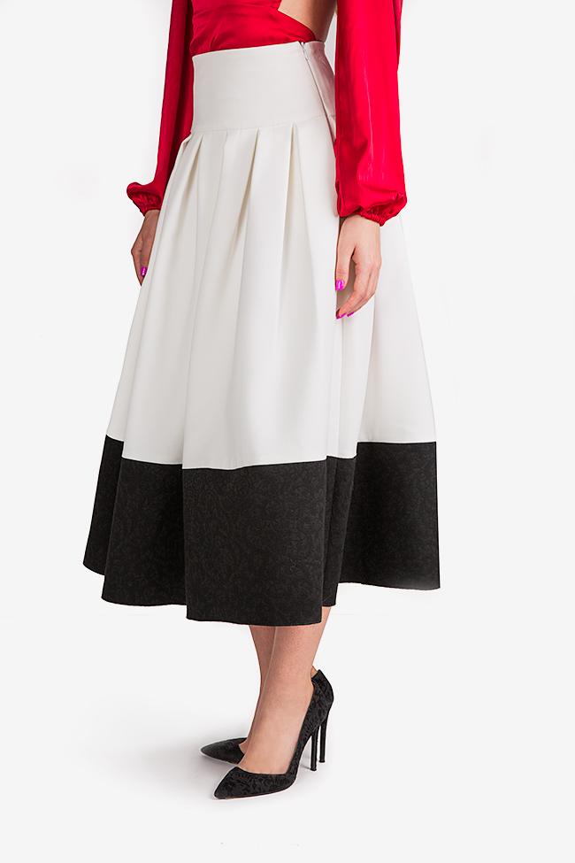 La Femme jaquard midi skirt Florentina Giol image 2
