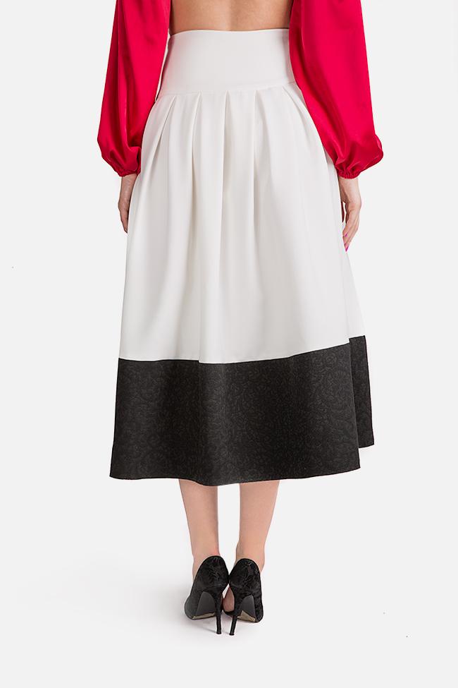 La Femme jaquard midi skirt Florentina Giol image 3
