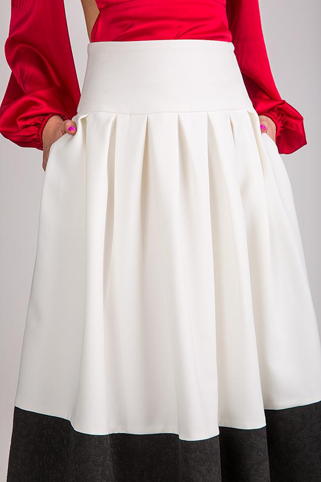 La Femme jaquard midi skirt Florentina Giol image 4