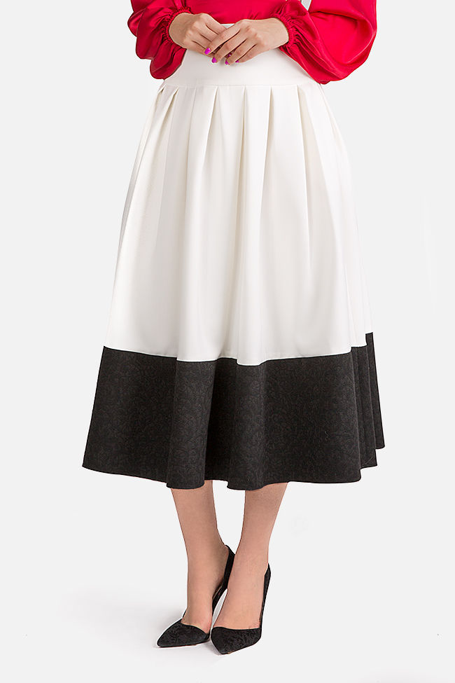 La Femme jaquard midi skirt Florentina Giol image 0