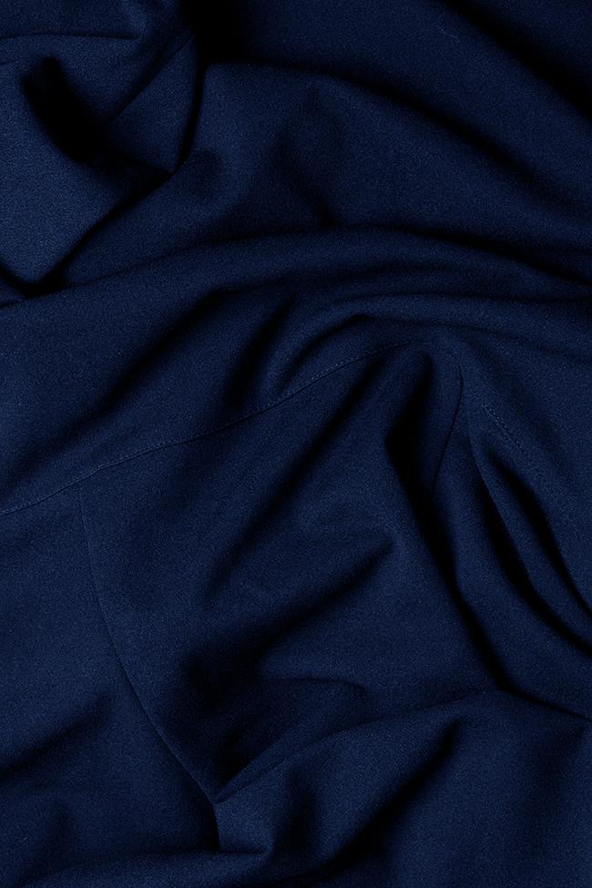 Robe en crêpe avec volants et lesépaules dénudées Adelina Love Love  image 4