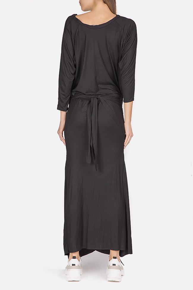 Clarion twist-front cotton-blend jersey maxi dress Studio Cabal image 2