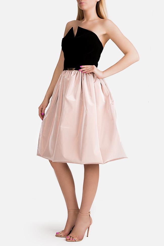 Lolita velvet taffeta midi dress Ramona Belciu image 1