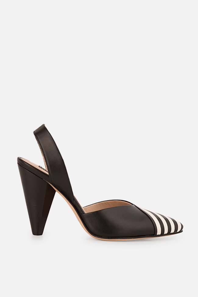 Marlene leather slingback pumps Ginissima image 0