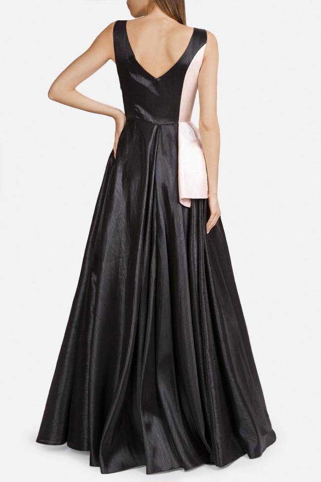 Embellished silk-taffeta peplum gown Alda Ciceu image 1
