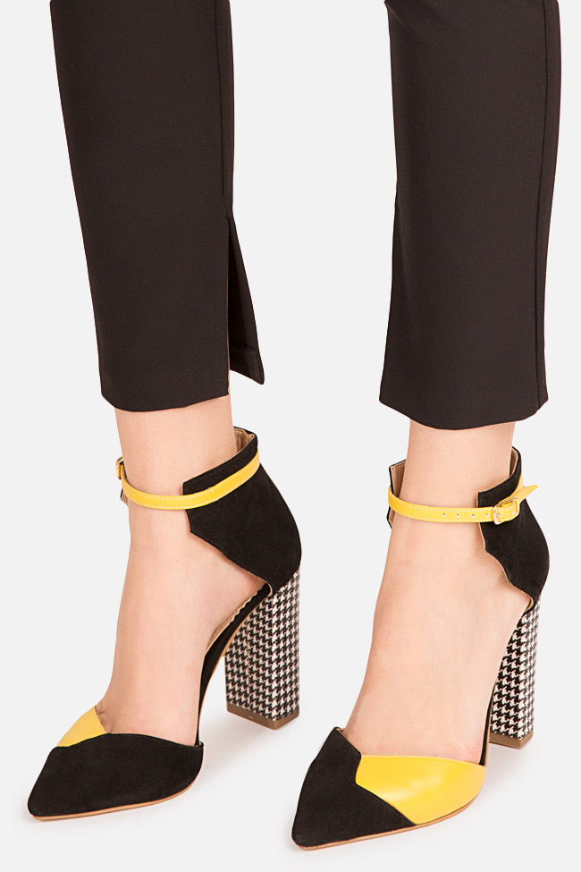 Wild Mood two-tone leather pumps Hannami image 3