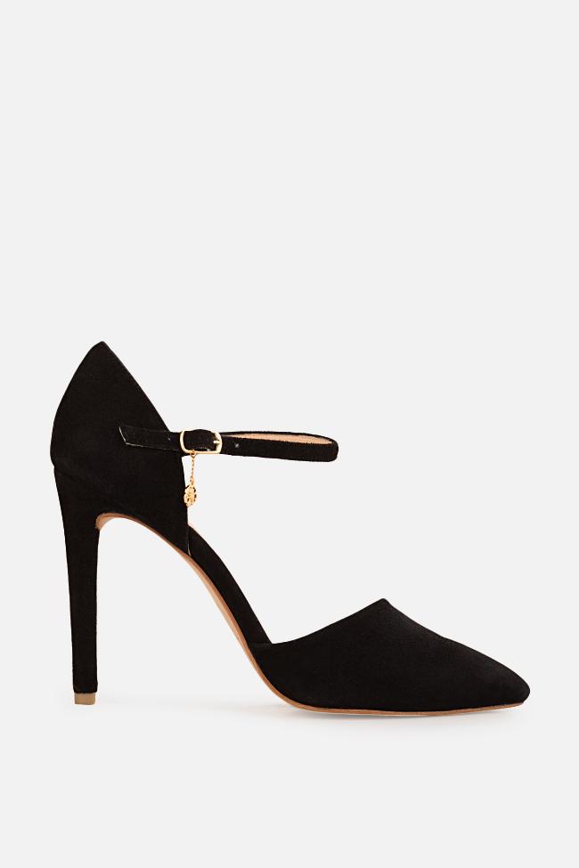 Pantofi din piele intoarsa Simply Classic Hannami imagine 0