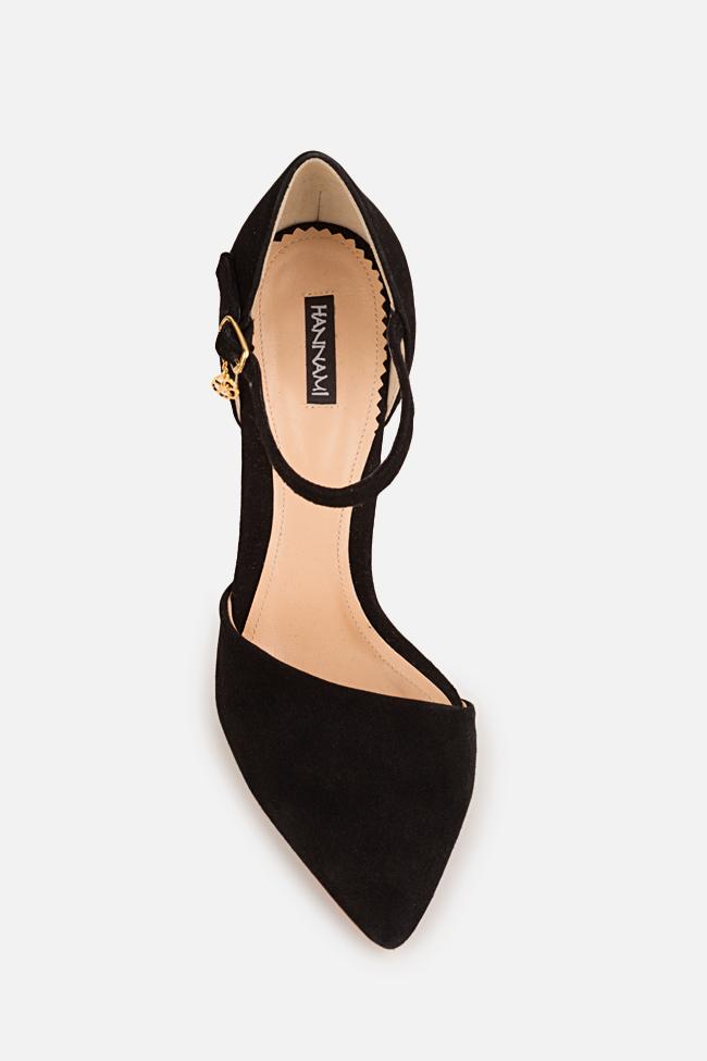 Pantofi din piele intoarsa Simply Classic Hannami imagine 1