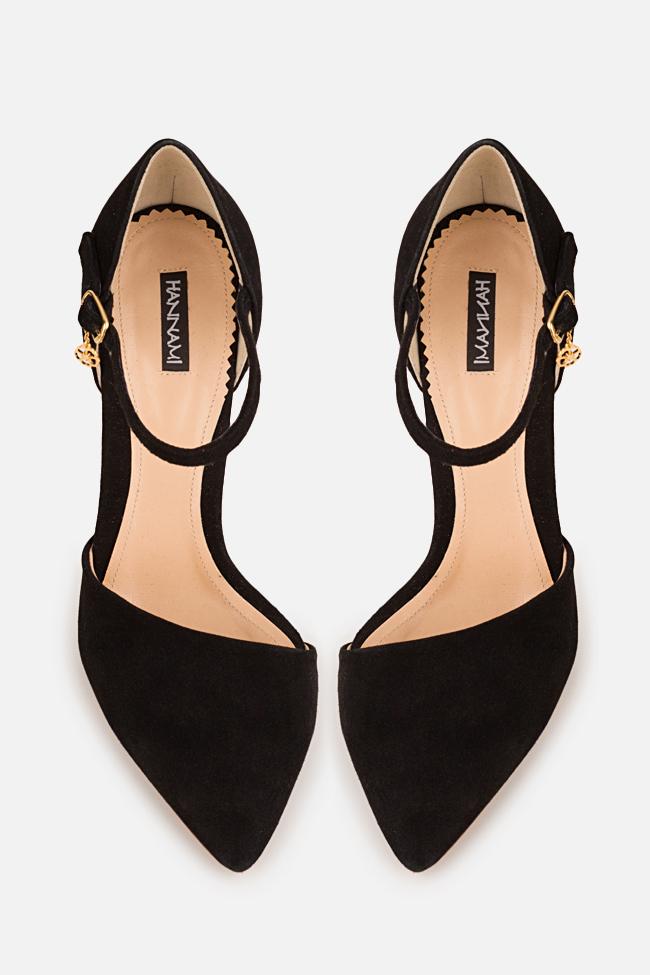 Pantofi din piele intoarsa Simply Classic Hannami imagine 2