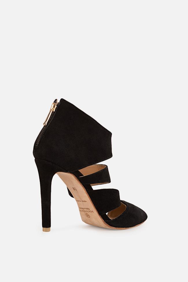 Chaussures en daim avec découpes Hannami image 1
