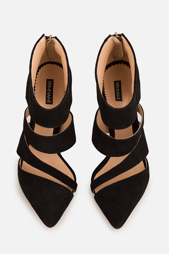 Chaussures en daim avec découpes Hannami image 2
