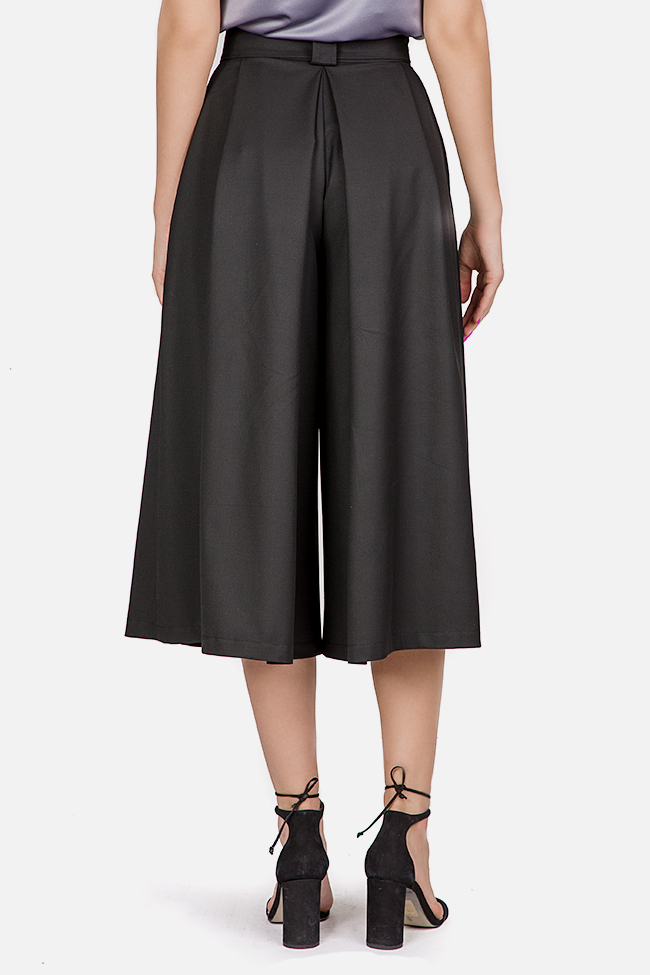 Belted cotton culottes Bluzat image 2