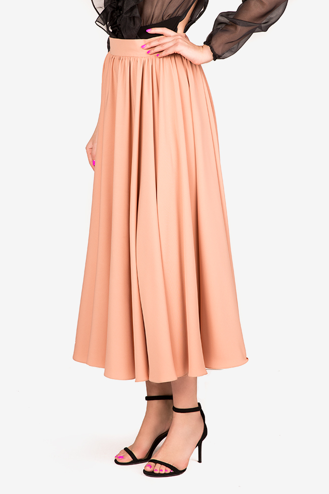 Cotton-blend midi skirt Bluzat Cocktail image 0