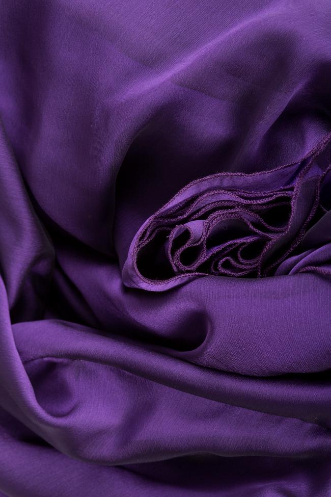 Silk-blend midi skirt Bluzat Cocktail image 4