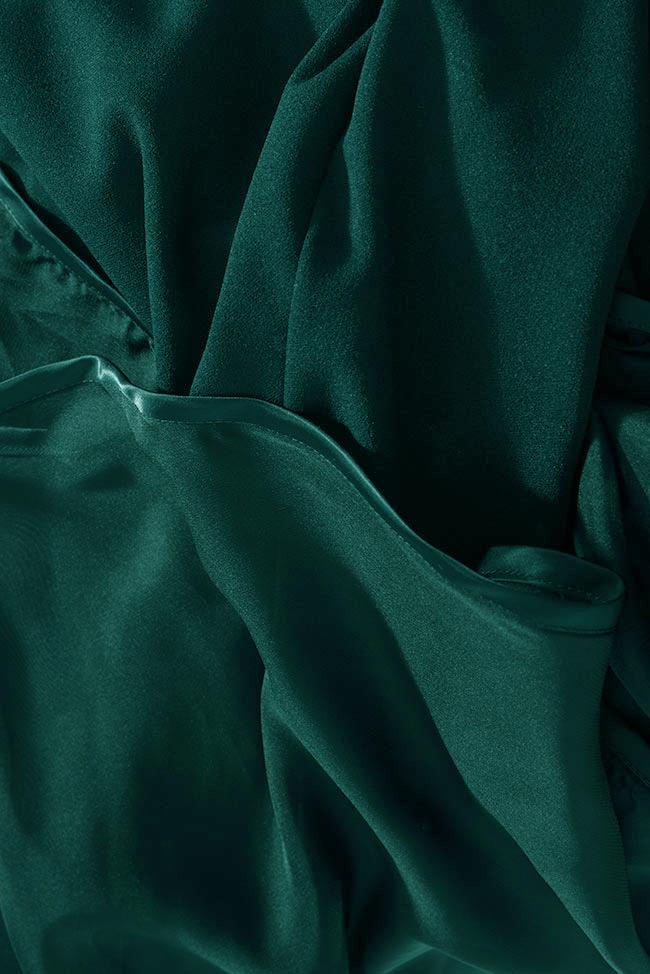Robe en crêpe et voile de soie Ana Love Love  image 4