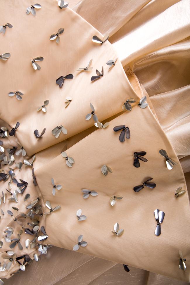 Embellished silk taffeta peplum gown Alda Ciceu image 4
