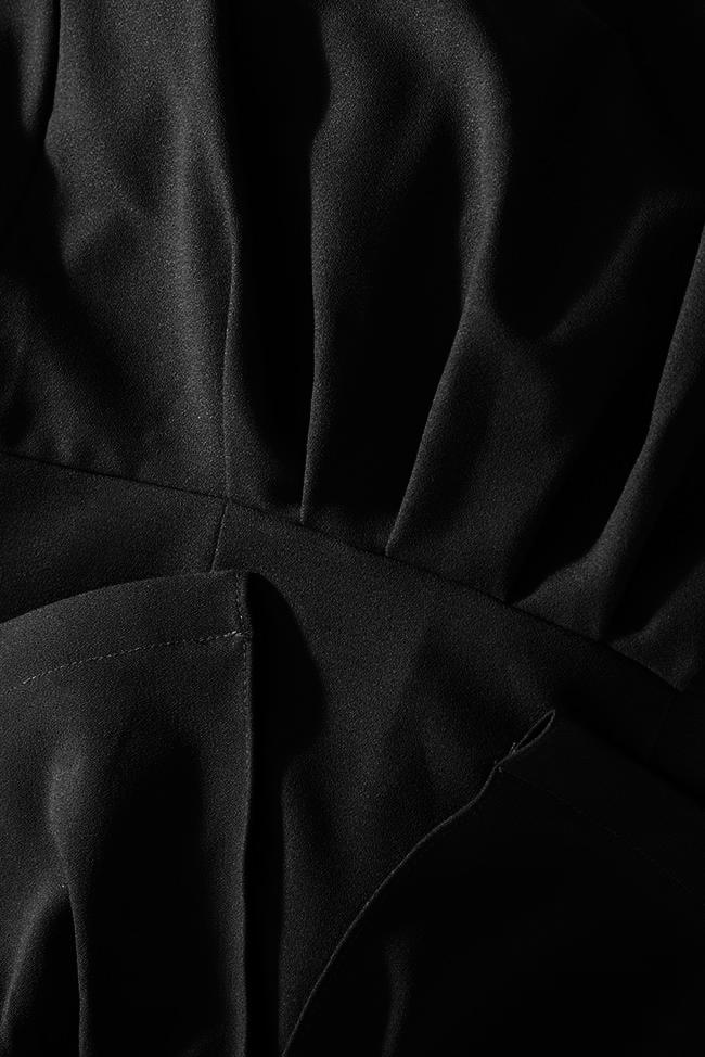 Robe en crêpe avec volant et dos nu Melisa Love Love  image 4