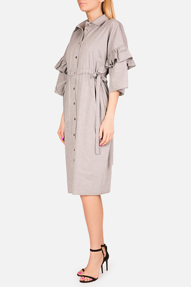 Ruffled shirt dress Bluzat image 1