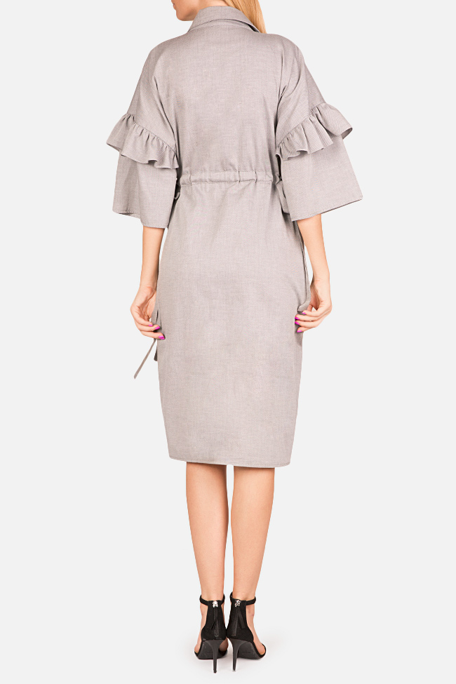 Ruffled shirt dress Bluzat image 2