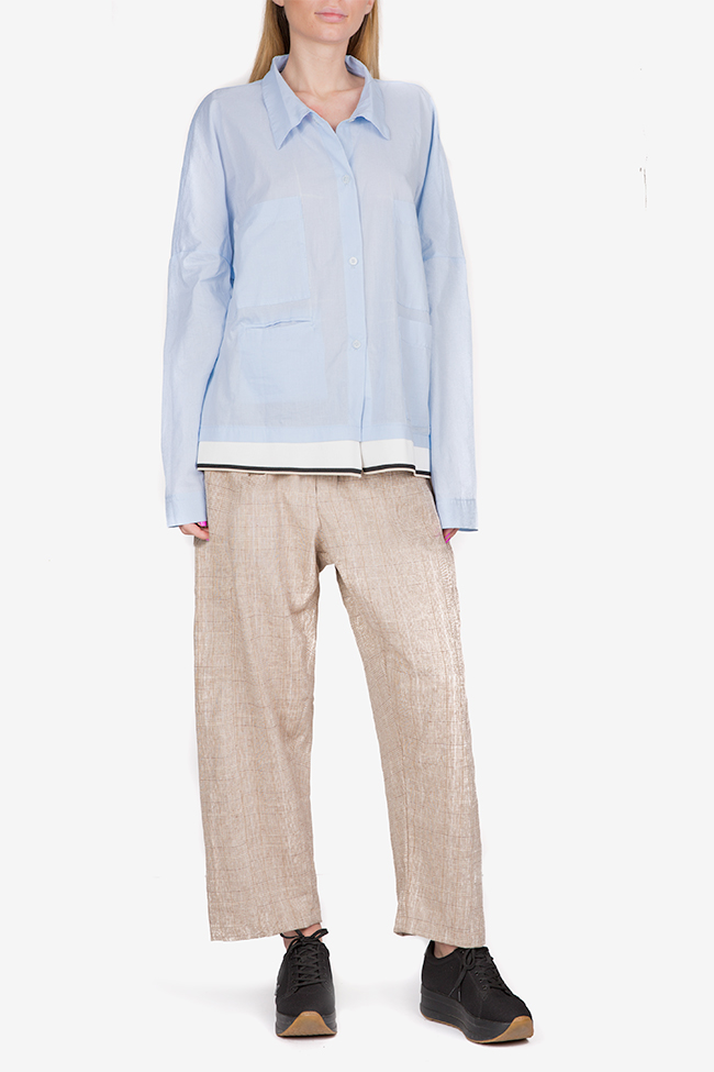 Oversized cotton shirt Studio Cabal image 1