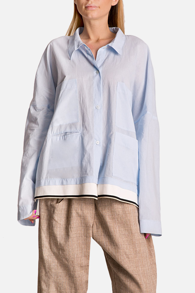 Oversized cotton shirt Studio Cabal image 0