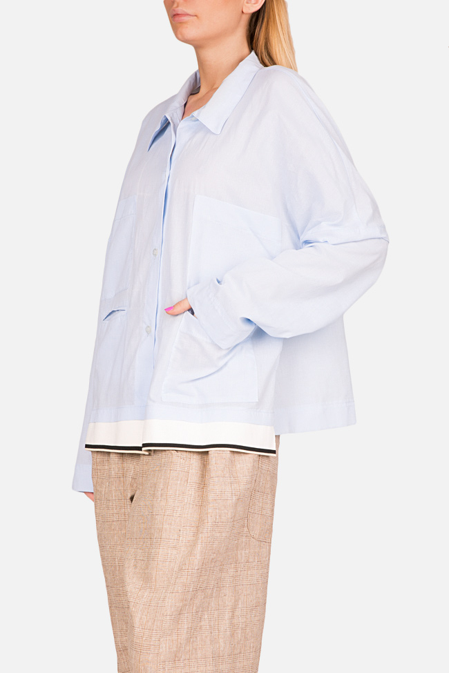 Oversized cotton shirt Studio Cabal image 3