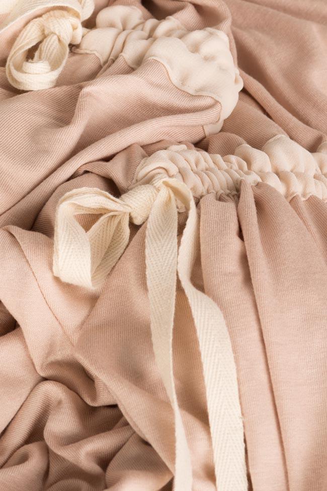 Frizzy asymmetric cotton-blend jersey mini dress Studio Cabal image 3