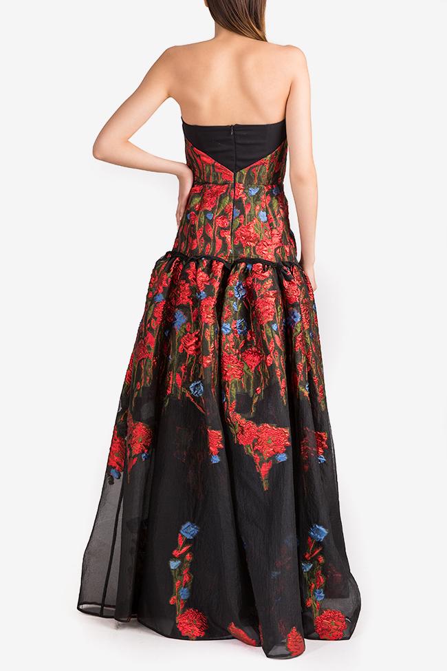 Floral-organza gown Alda Ciceu image 2