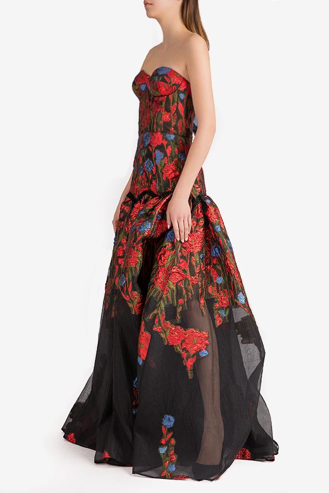 Floral-organza gown Alda Ciceu image 1
