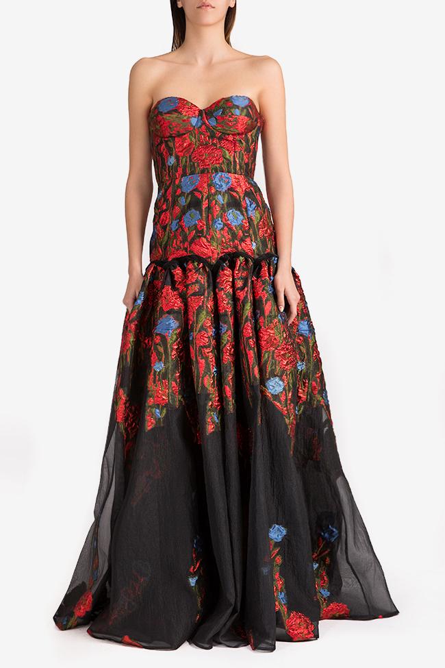 Floral-organza gown Alda Ciceu image 0