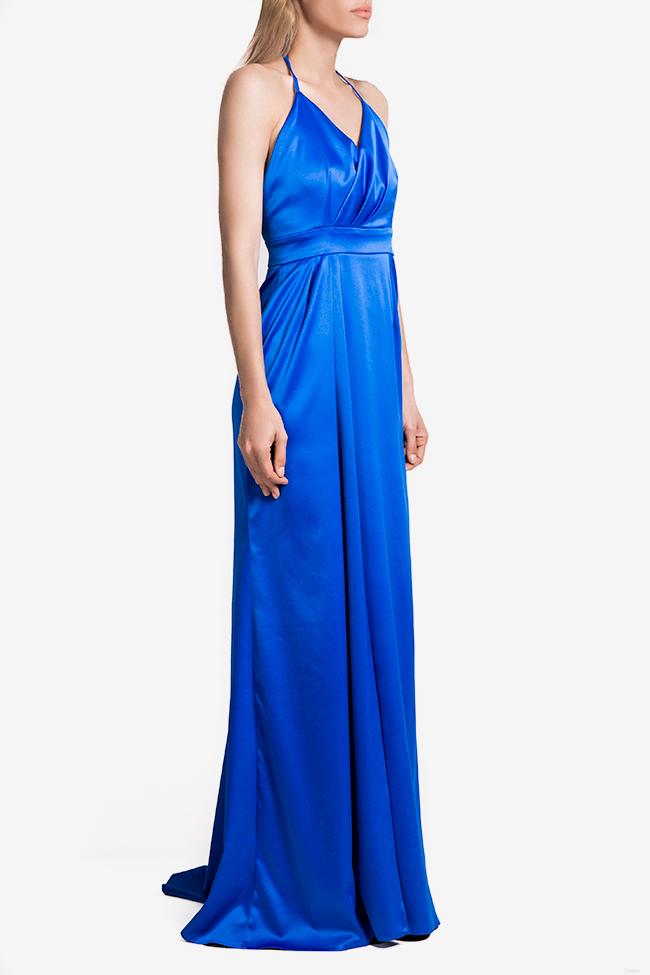 Satin gown Mirela Diaconu  image 0