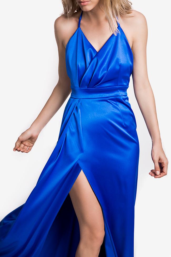 Satin gown Mirela Diaconu  image 2