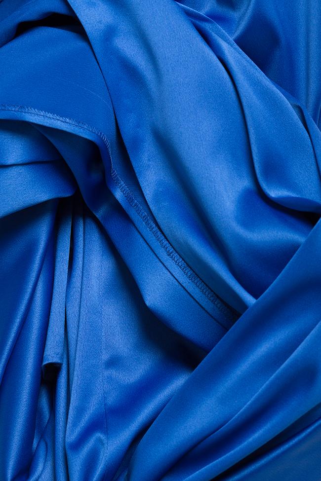 Satin gown Mirela Diaconu  image 4