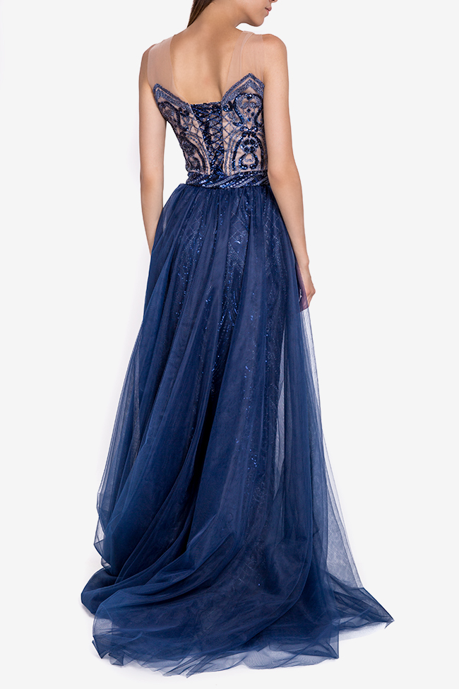 Timeea embellished tulle gown Mariana Ciceu image 2