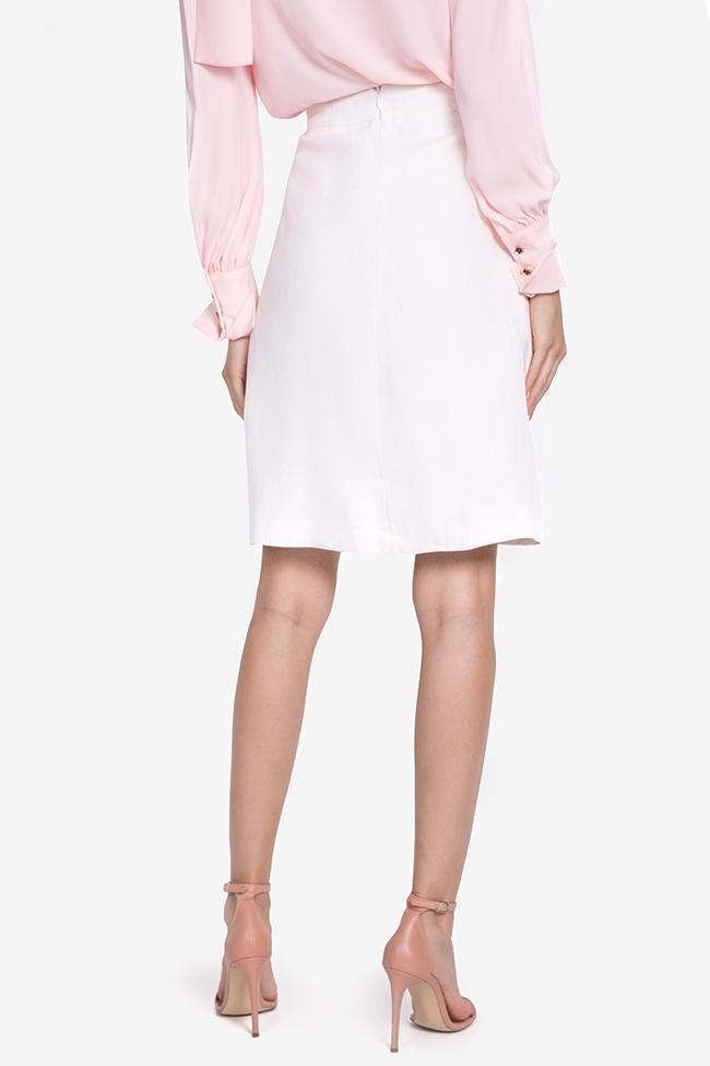 Linen mini skirt Acob a Porter image 2
