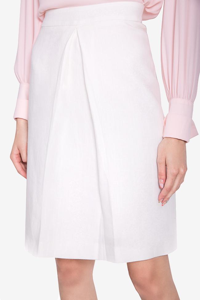 Linen mini skirt Acob a Porter image 3