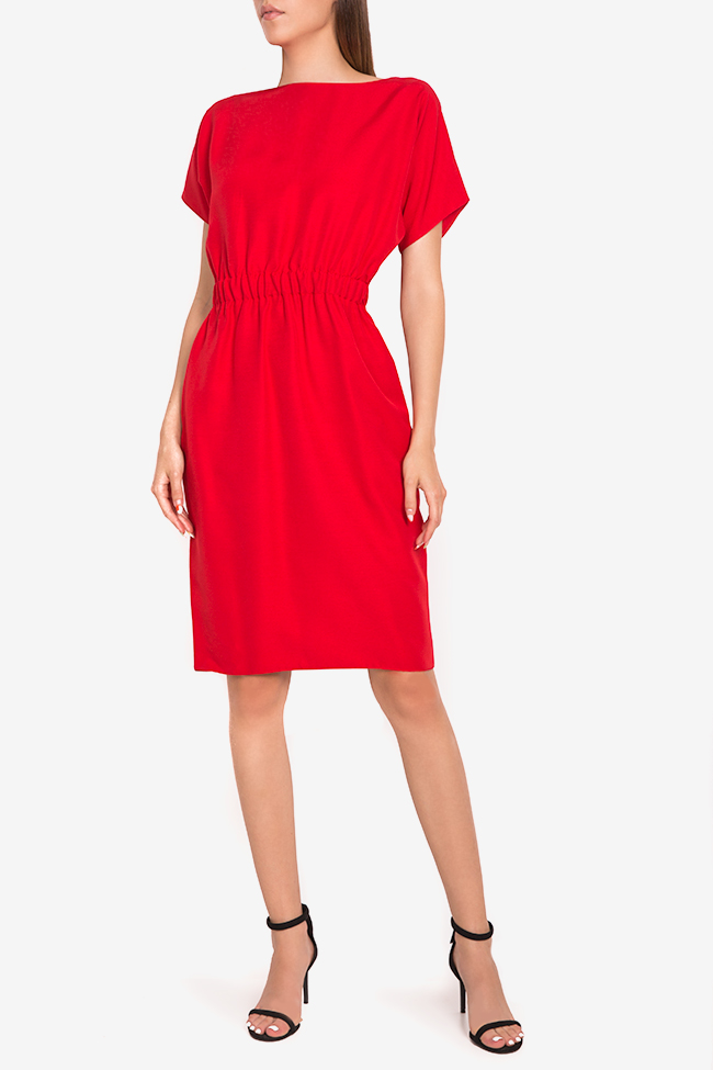 Zoey stretch-cotton midi dress Couture de Marie image 0