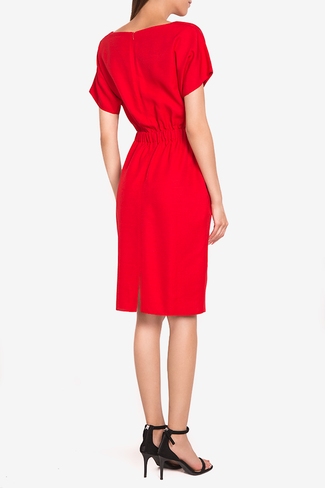 Zoey stretch-cotton midi dress Couture de Marie image 2