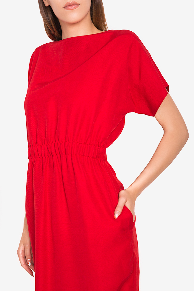 Zoey stretch-cotton midi dress Couture de Marie image 3
