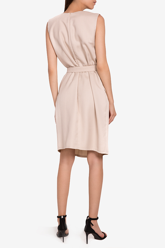 Hazel belted cotton-blend midi dress Couture de Marie image 2