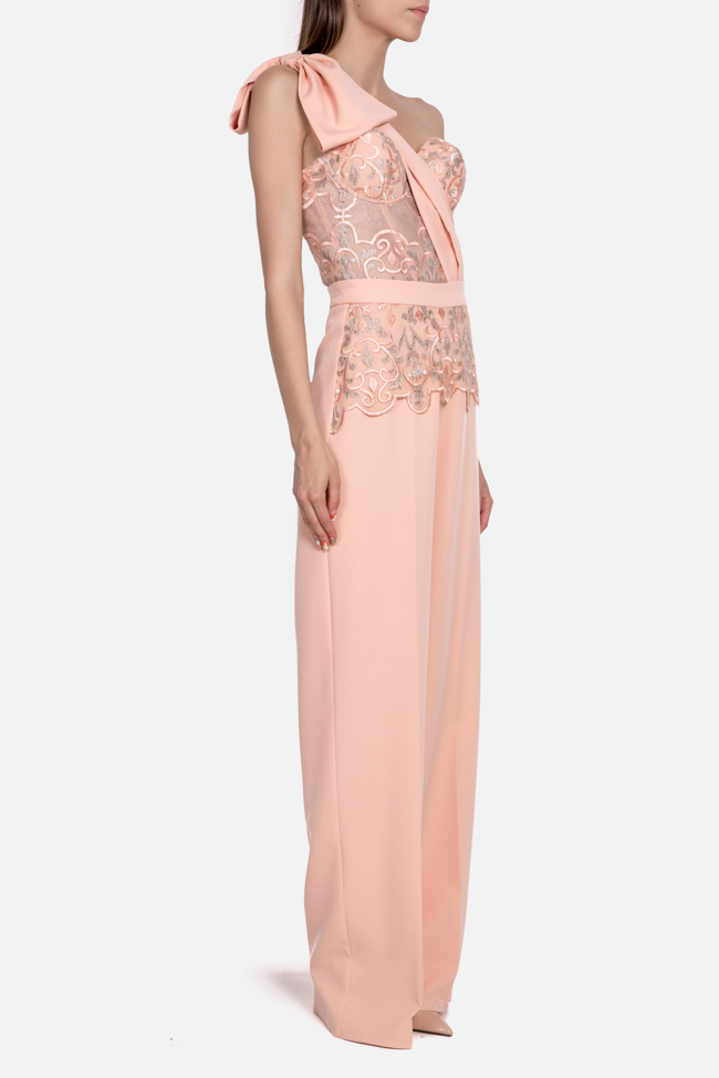 Atena embroidered tulle crepe deux-pieces Mariana Ciceu image 1
