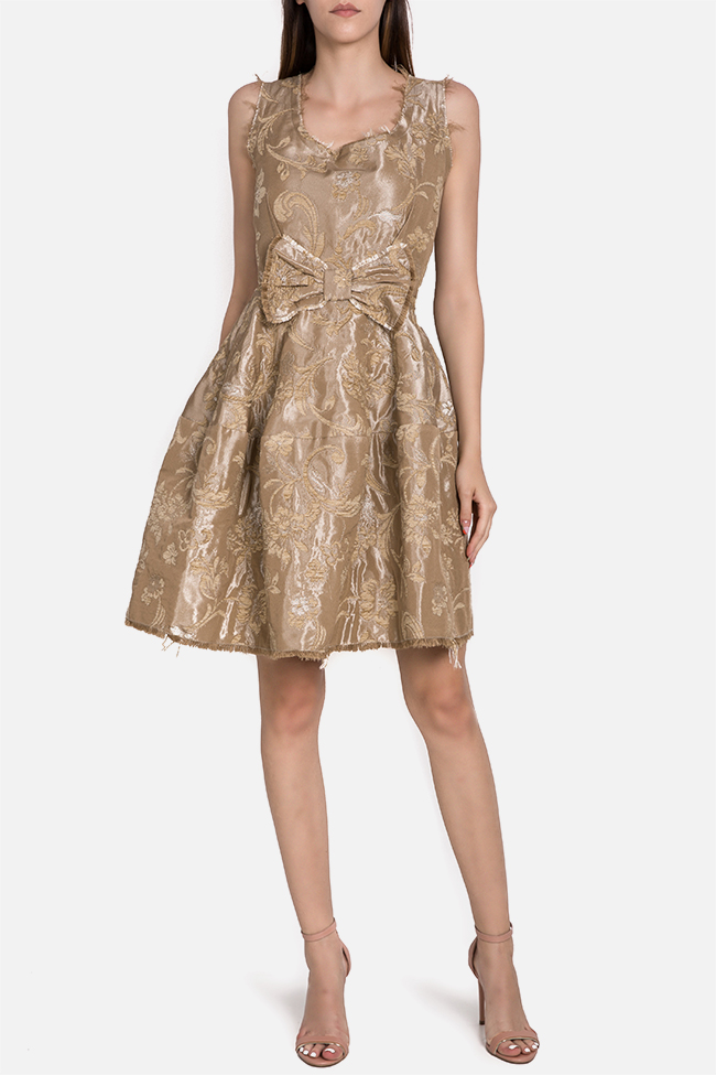 Brocade mini dress Marius Musat image 1